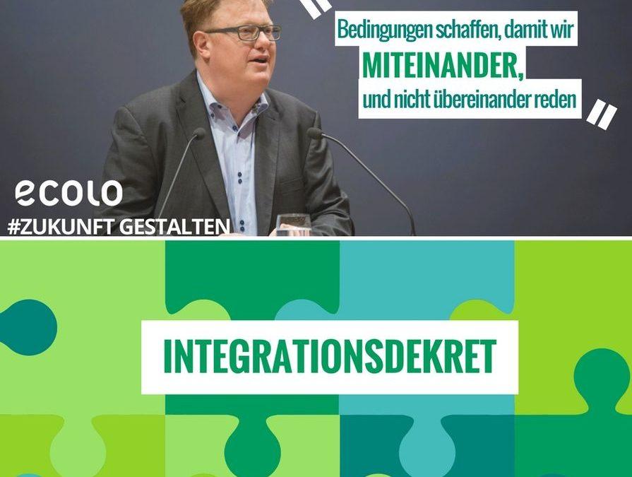 Dekret zum Integrationsparcours