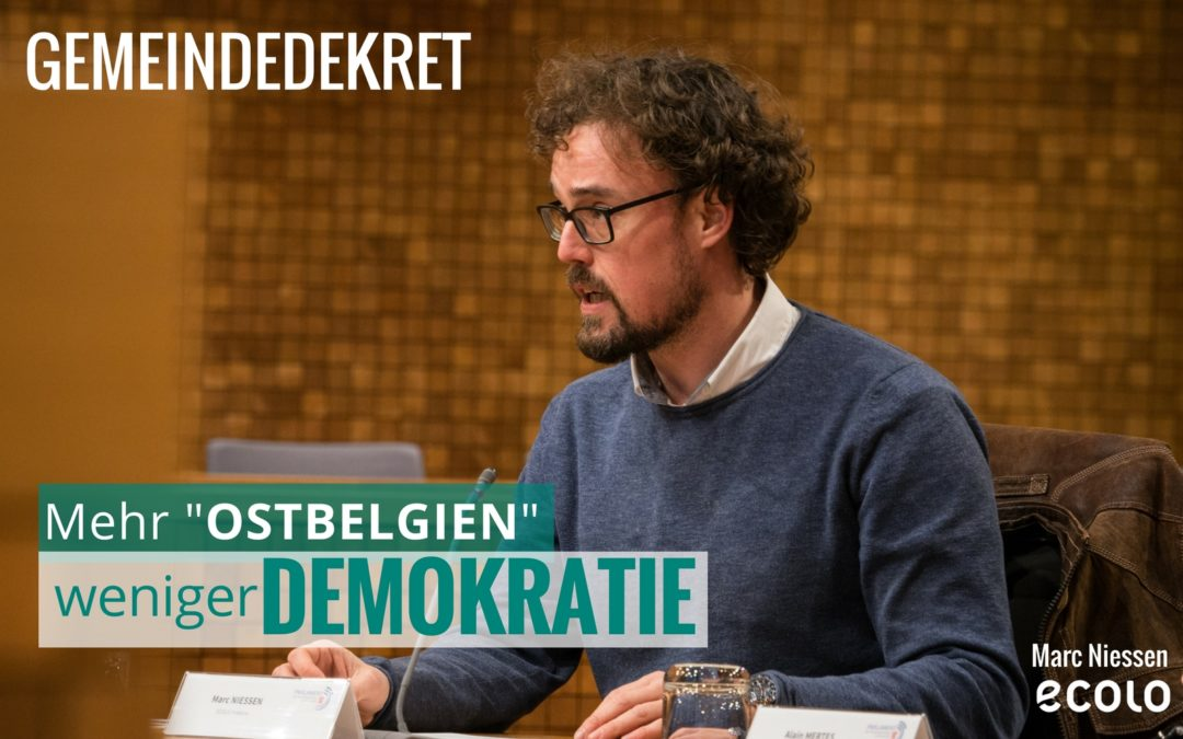 Gemeindedekret – Intervention